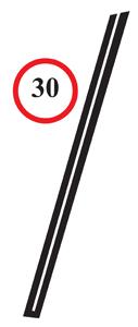 Windshield Frame to Door Seals (Pair)