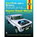 Haynes Repair Manual 73-79 Bronco
