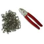 Hog Ring Plier & Upholstery Kit