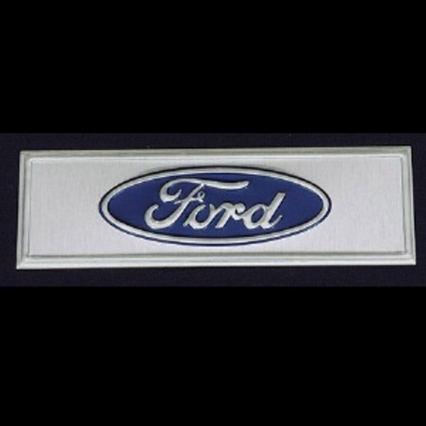 Ford Emblem Above Driver Side Rocker Panel