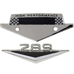 289 Emblem & High Performance Badge