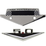 5.0 Emblem & High Performance Badge