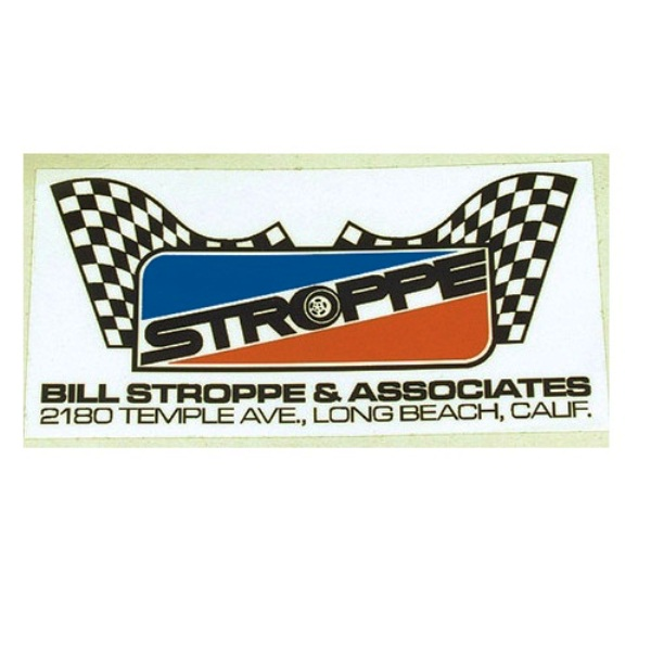 Stroppe Roll Bar Sticker