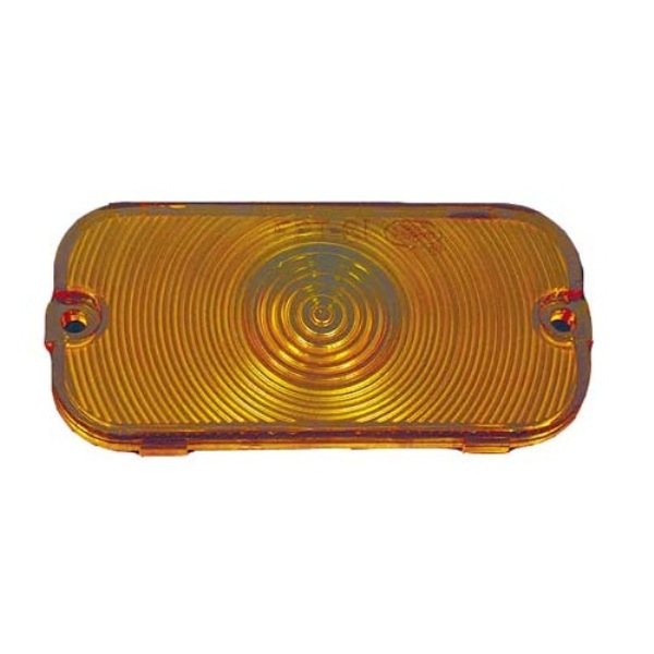 66-68 Front Turn Signal Lens Amber