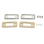 70-77 Stainless Steel Side Marker Bezel Kit Stainless steel