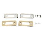 70-77 Stainless Steel Side Marker Bezel Kit Stainless steel