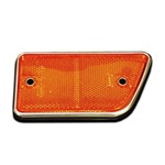 68-69 Front Side Reflector Left Amber