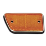 68-69 Front Side Reflector Right Amber