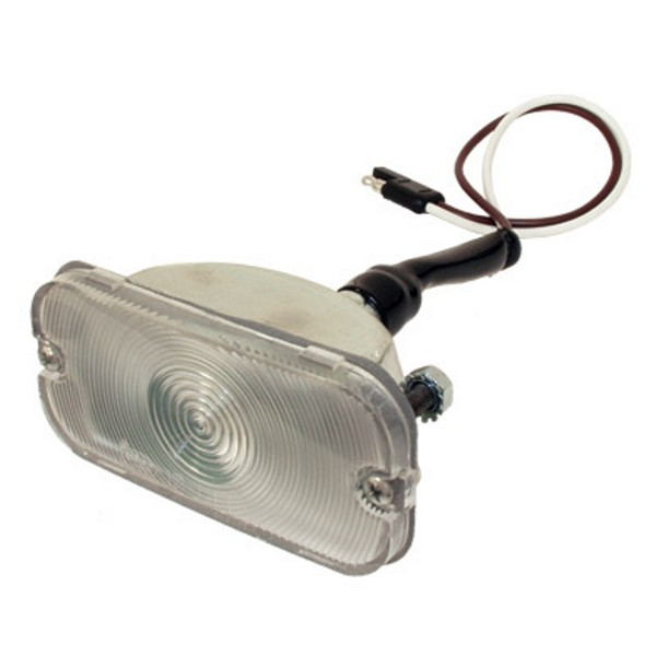 66-68 Front Turn Signal Assembly With Clear Lens