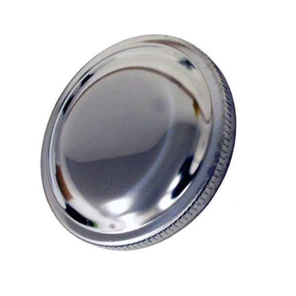 Stainless Steel Gas Cap Vented 66-Early 70 2.80 inch OD