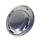 Stainless Steel Gas Cap Vented 66-Early 70 2 3/4 inch OD