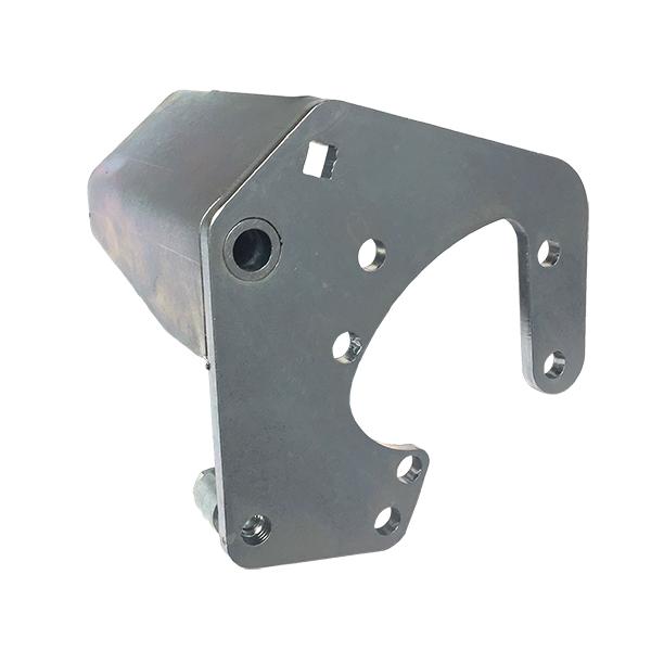 Power Steering Pump Bracket Zinc Clear