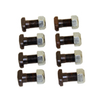 Heavy Duty Axle Retainer T-Bolts 1/2 inch set of eight