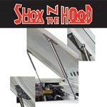 Shox N The Hood (Stainless) For WH Deluxe Fiberglass Hoods