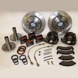 Buy Front Disc Brake Kit 76 77 Early Ford Bronco Parts