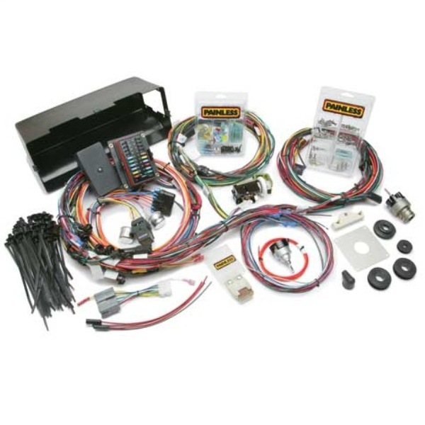 Painless 28 Circuit Wiring Harness With Switches