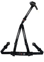 Corbeau 3-Point Retractable Harness Belt 2in Bolt-In