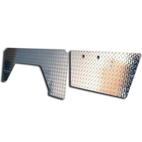 Diamond Plate Kit - Door & Quarter Panel Set 66-67