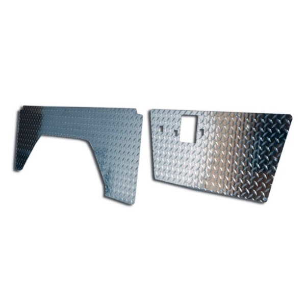 Diamond Plate Kit - Door & Quarter Panel Set 68-76