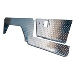 Diamond Plate Kit - Door, Lower Door & Quarter Panel 68-76