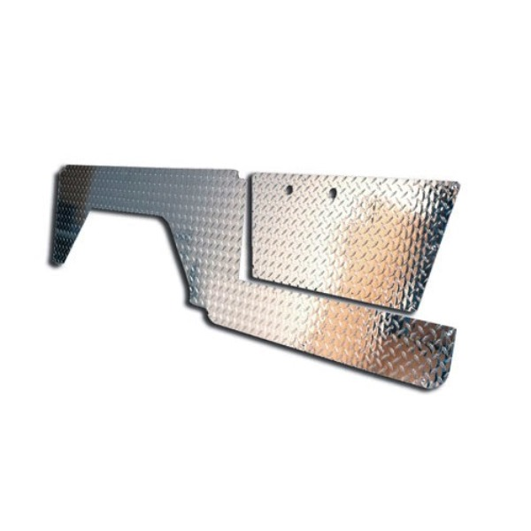 Diamond Plate Kit - Door, Lower Door & Quarter Panel 66-67