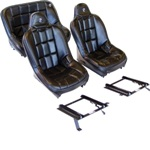 CORBEAU BAJA SS SEAT PACKAGE-FRONTS/40IN REAR & ALL BRACKETS