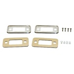 70-77 Chrome Side Marker Bezel Kit