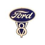 Ford V8 Sign 29x 29 1/4