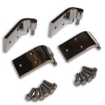 Door Side Only - Stainless Steel Quick Remove Door Hinge Kit