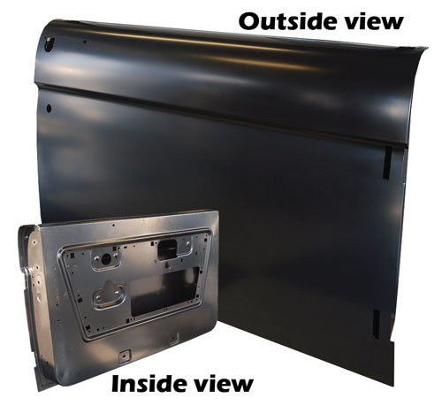 Passenger Side Door Shell 68-77