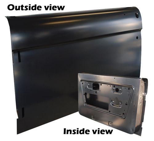 Driver Side Door Shell 68-77