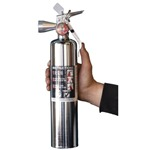 Halotron 2.5 lb. Chrome Fire Extinguisher