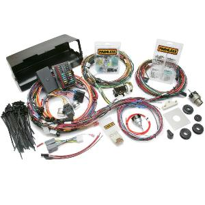 Painless 28 Circuit Wiring Harness with Switches 66 77