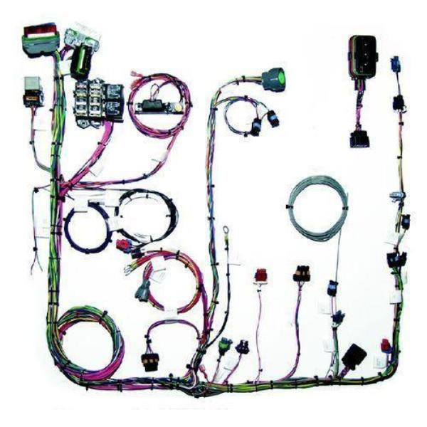 Painless Fuel Injection Harness 96-99 GM Vortec 4.3L V6 CMFI Extra Length