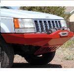 Jeep ZJ Rock Solid Front Bumper w/ Winch Mount