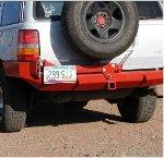 Jeep ZJ Rock Solid Rear Bumper w/Tire Rack