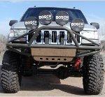 Jeep ZJ PreRunner Front Bumper w/ Winch Mounts