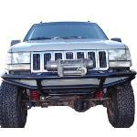 Jeep ZJ Flat Top Front Bumper w/ Winch Mounts