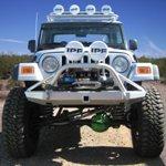 Jeep TJ Rock Solid Front Bumper w/ Winch Mount & PreBar