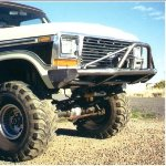 78-79 Big Bubba Front Bumper w/ Pushbar & Winch Mounts