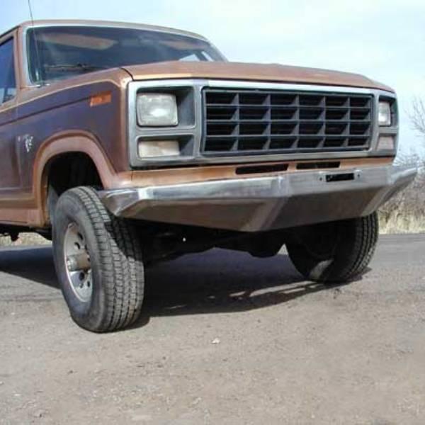 80-85 Rock Solid Front Bumper w/ Winch Mount