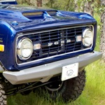 66-77 Rock Solid Front Bumper Non-Winch No Receiver