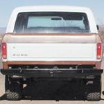 78-79 Rock Solid Rear Bumper - No Racks