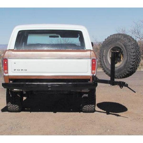 78-79 Rock Solid Rear Bumper w/ Tire Rack