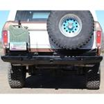 78-96 Rock Solid Rear Bumper w/ Tire & Jerry Can Racks