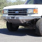 87-91 Rock Solid Front Bumper w/ Winch Mount