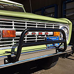 WH Smasher Push/Light Bar for Stock Front Bumper