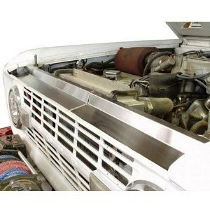 Buy Stainless Radiator Air Dam Early Ford Bronco Parts