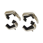 Stainless Steel Radiator Mount Set w/4 Rubber Insulators