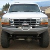 BRONCO BUMPERS 92-96